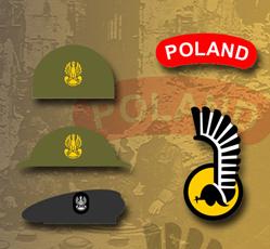 Polandy i inne oznaki PSZ na zachodzie