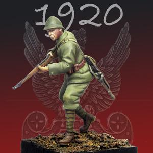 Figurki żołnierzy – Bitwa Warszawska 1920