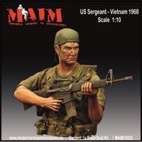 US Sergeant – Vietnam 1968, popiersie 1:10
